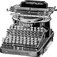 typewritter-petite